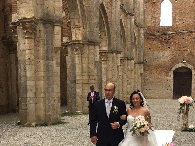 Il matrimonio di Andrea e Serena a Chiusdino, Siena 3