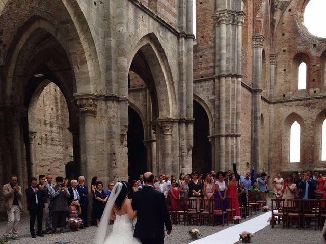 Il matrimonio di Andrea e Serena a Chiusdino, Siena 4