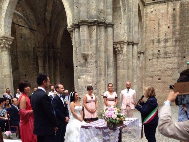 Il matrimonio di Andrea e Serena a Chiusdino, Siena 6