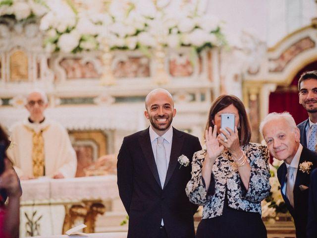 Il matrimonio di Fausto e Simona a Vico Equense, Napoli 26