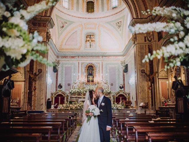 Il matrimonio di Fausto e Simona a Vico Equense, Napoli 30