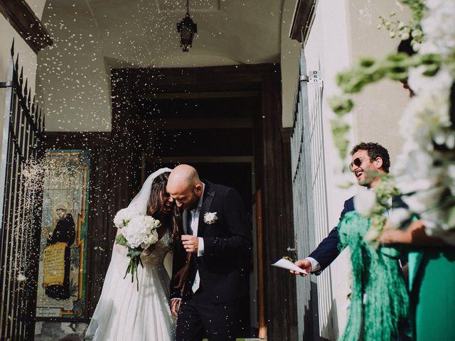 Il matrimonio di Fausto e Simona a Vico Equense, Napoli 31