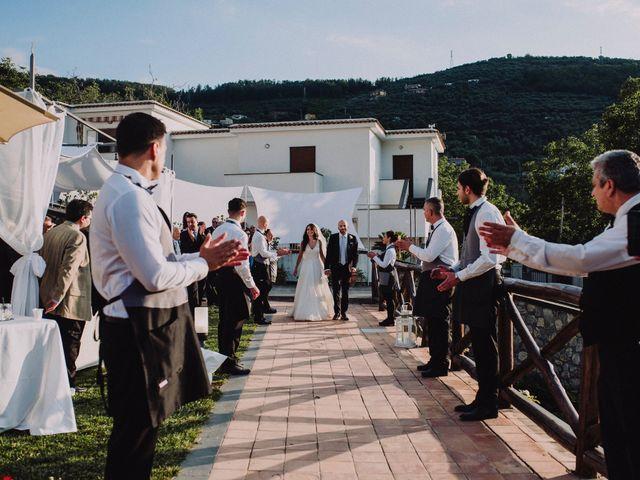 Il matrimonio di Fausto e Simona a Vico Equense, Napoli 41