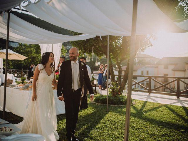 Il matrimonio di Fausto e Simona a Vico Equense, Napoli 44
