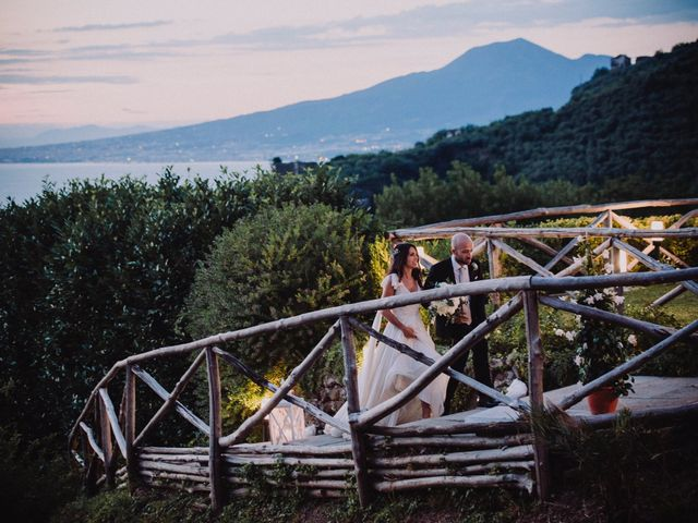 Il matrimonio di Fausto e Simona a Vico Equense, Napoli 48