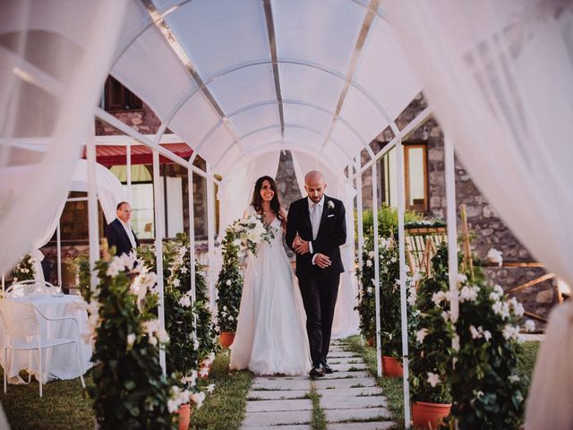 Il matrimonio di Fausto e Simona a Vico Equense, Napoli 49