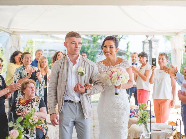 Il matrimonio di Angela e Davide a Savignone, Genova 1
