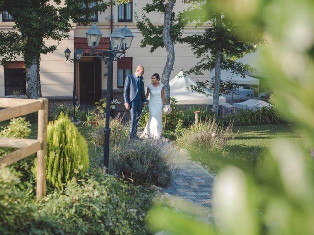 Il matrimonio di Angela e Davide a Savignone, Genova 9