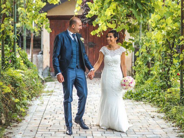 Il matrimonio di Angela e Davide a Savignone, Genova 14