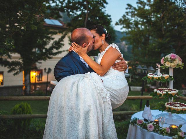 Il matrimonio di Angela e Davide a Savignone, Genova 19