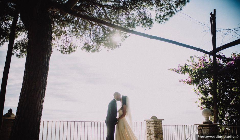 Il matrimonio di Fausto e Simona a Vico Equense, Napoli