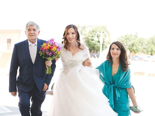 Il matrimonio di Lorenzo e Elisa a Guasila, Cagliari 43