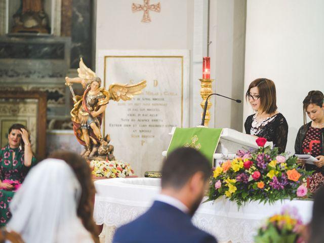 Il matrimonio di Lorenzo e Elisa a Guasila, Cagliari 48