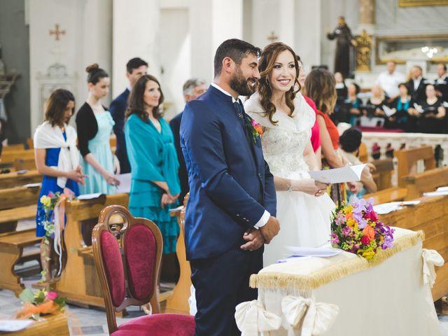 Il matrimonio di Lorenzo e Elisa a Guasila, Cagliari 50
