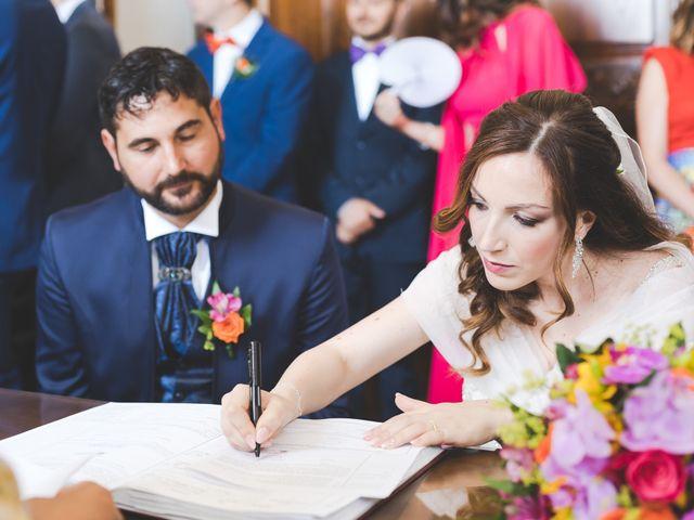 Il matrimonio di Lorenzo e Elisa a Guasila, Cagliari 71