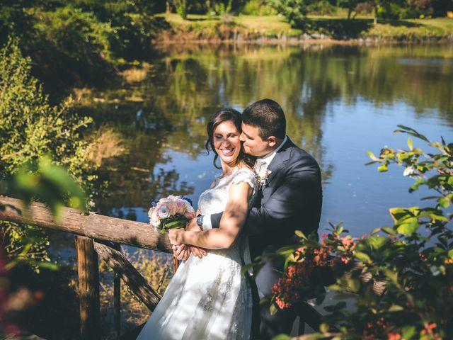 Le nozze di Sabrina e Giuliano