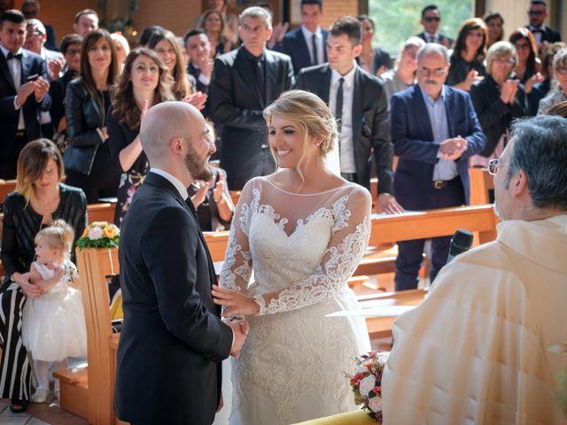 Il matrimonio di Claudio e Giuliana a Lucera, Foggia 17