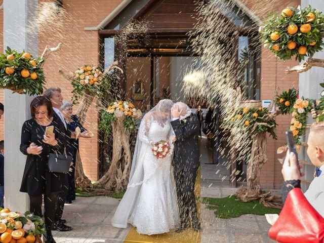 Il matrimonio di Claudio e Giuliana a Lucera, Foggia 16
