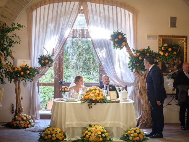 Il matrimonio di Claudio e Giuliana a Lucera, Foggia 50