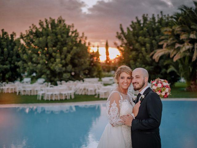Il matrimonio di Claudio e Giuliana a Lucera, Foggia 47