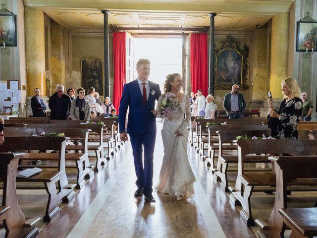 Il matrimonio di Alessandro e Elisabetta a Casteggio, Pavia 40