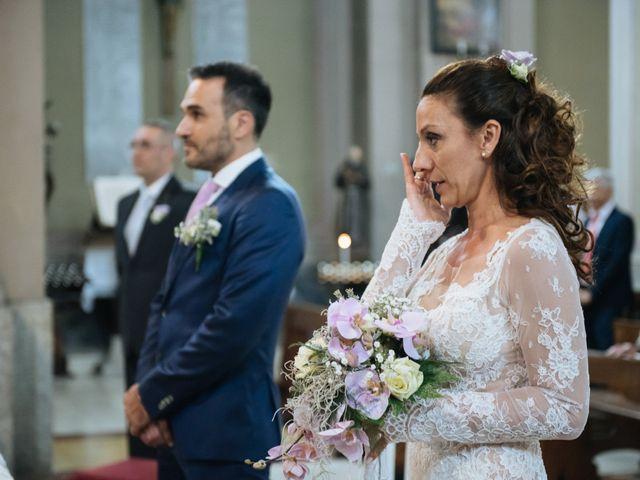 Il matrimonio di Alessandro e Elisabetta a Casteggio, Pavia 41