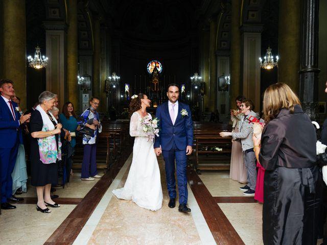 Il matrimonio di Alessandro e Elisabetta a Casteggio, Pavia 54
