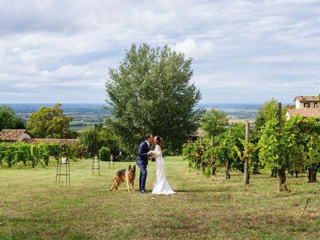 Il matrimonio di Alessandro e Elisabetta a Casteggio, Pavia 77