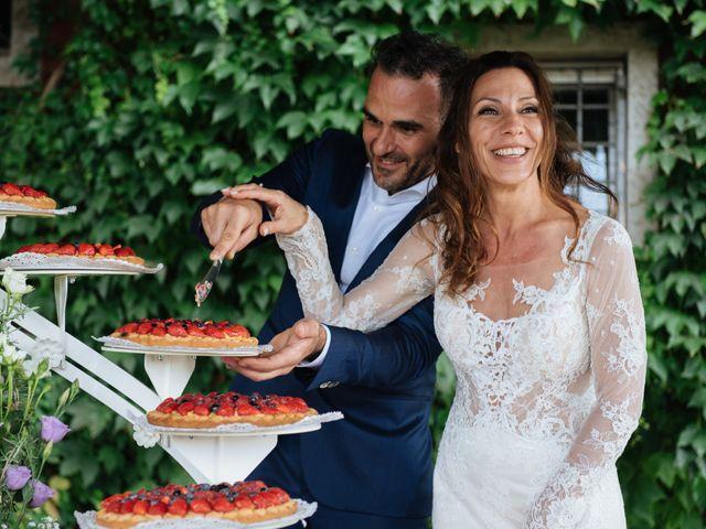 Il matrimonio di Alessandro e Elisabetta a Casteggio, Pavia 100