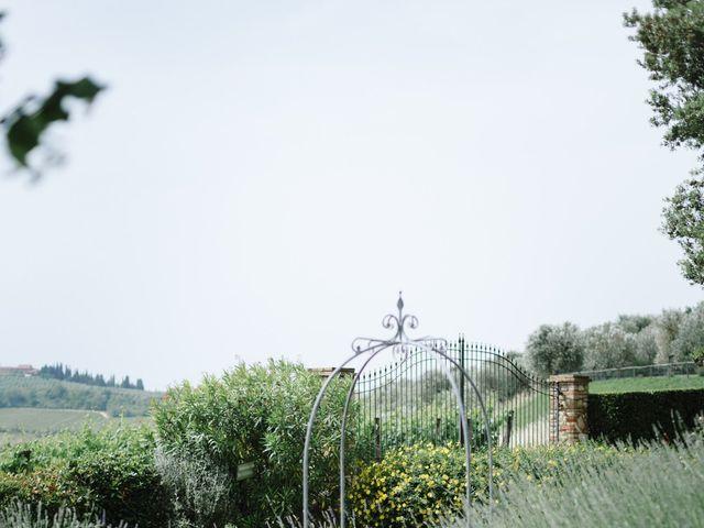 Il matrimonio di Nils e Kerstin a Bibbiano , Siena 9