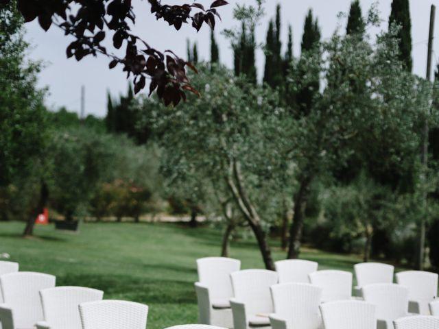 Il matrimonio di Nils e Kerstin a Bibbiano , Siena 10