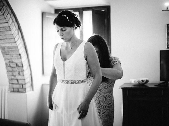 Il matrimonio di Nils e Kerstin a Bibbiano , Siena 2