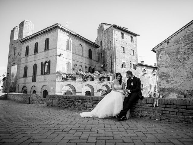 Il matrimonio di Jennifer e Riccardo a Poggibonsi, Siena 13