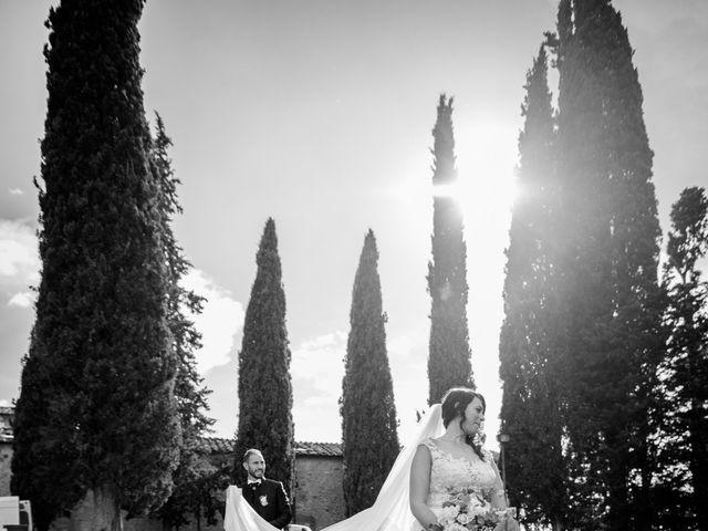Il matrimonio di Jennifer e Riccardo a Poggibonsi, Siena 14