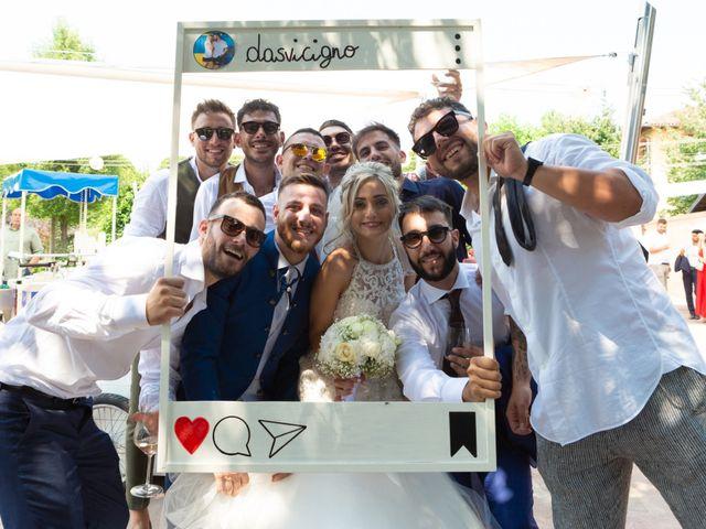 Il matrimonio di Dario e Chiara a Orbassano, Torino 81