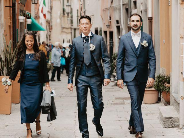 Il matrimonio di Mattia e Lidia a Portovenere, La Spezia 42