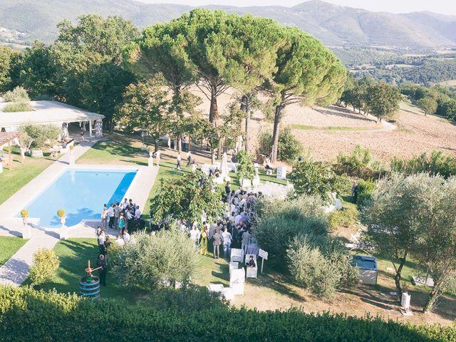 Il matrimonio di Marco e Francesca a Massa Martana, Perugia 23