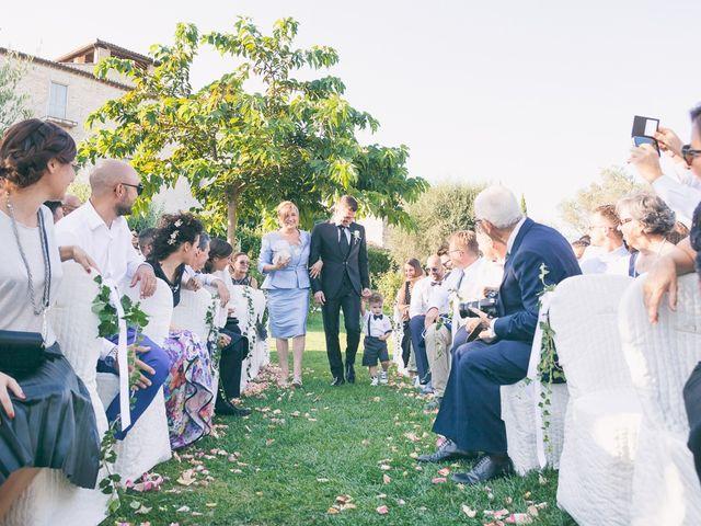 Il matrimonio di Marco e Francesca a Massa Martana, Perugia 25