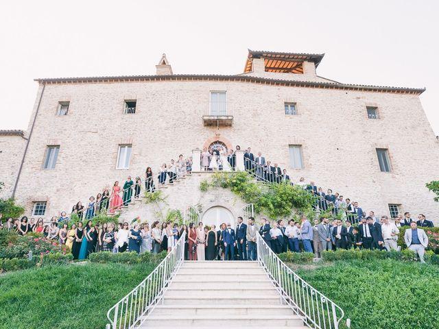 Il matrimonio di Marco e Francesca a Massa Martana, Perugia 35