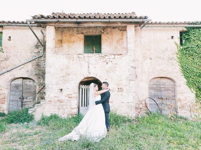 Il matrimonio di Marco e Francesca a Massa Martana, Perugia 38