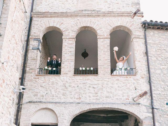 Il matrimonio di Marco e Francesca a Massa Martana, Perugia 40