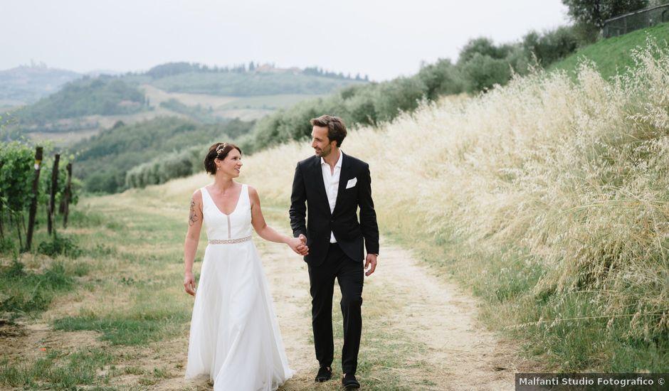 Il matrimonio di Nils e Kerstin a Bibbiano , Siena