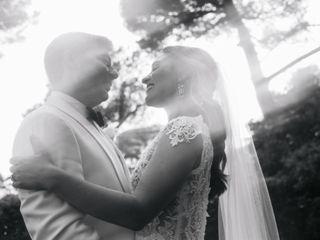 Le nozze di Michelle e Jason 1