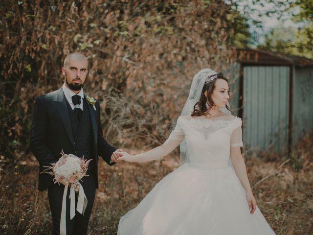 Le nozze di Sharon e Andrea