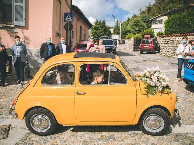 Il matrimonio di Filippo e Giulia a Montorfano, Como 52