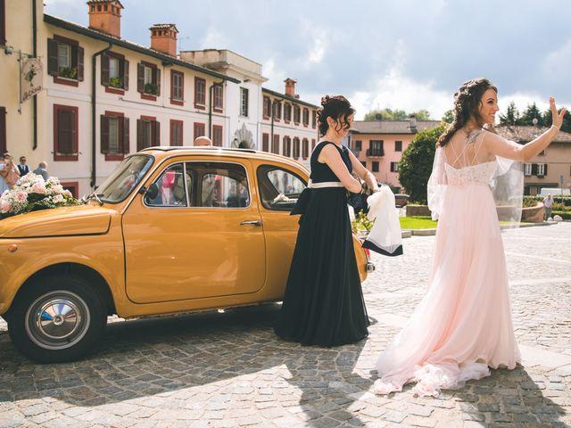 Il matrimonio di Filippo e Giulia a Montorfano, Como 55