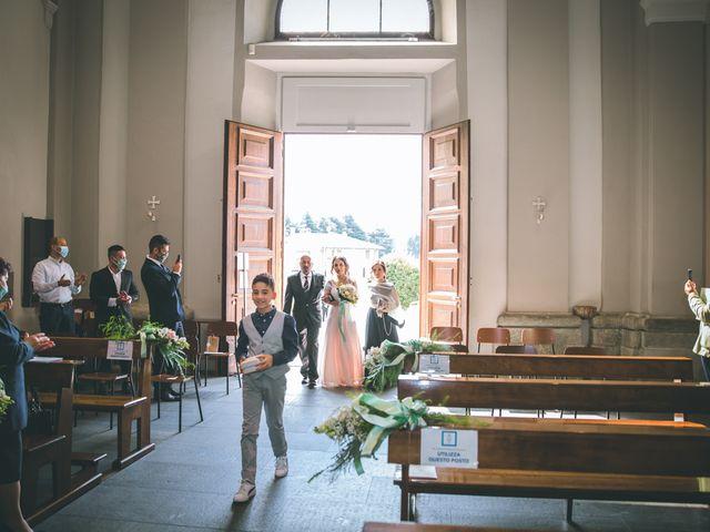 Il matrimonio di Filippo e Giulia a Montorfano, Como 58