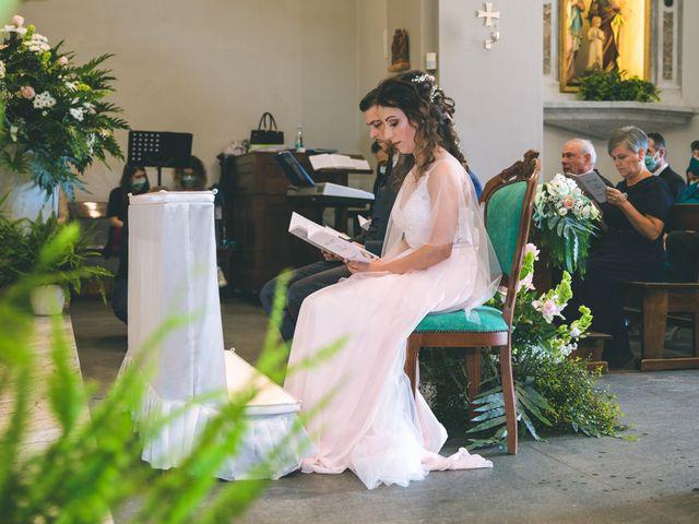 Il matrimonio di Filippo e Giulia a Montorfano, Como 72
