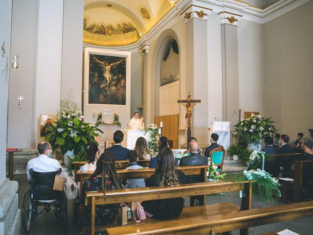 Il matrimonio di Filippo e Giulia a Montorfano, Como 79