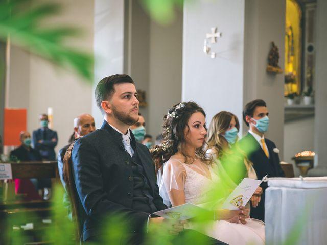 Il matrimonio di Filippo e Giulia a Montorfano, Como 80
